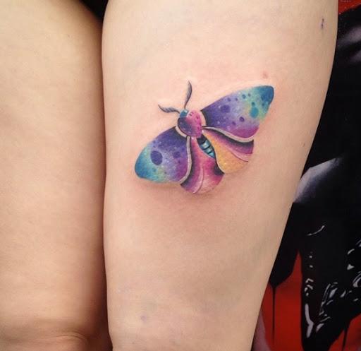 Este magnífico aquarela mariposa