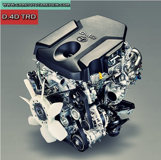2018 Toyota Tacoma TRD PRO Diesel Engine