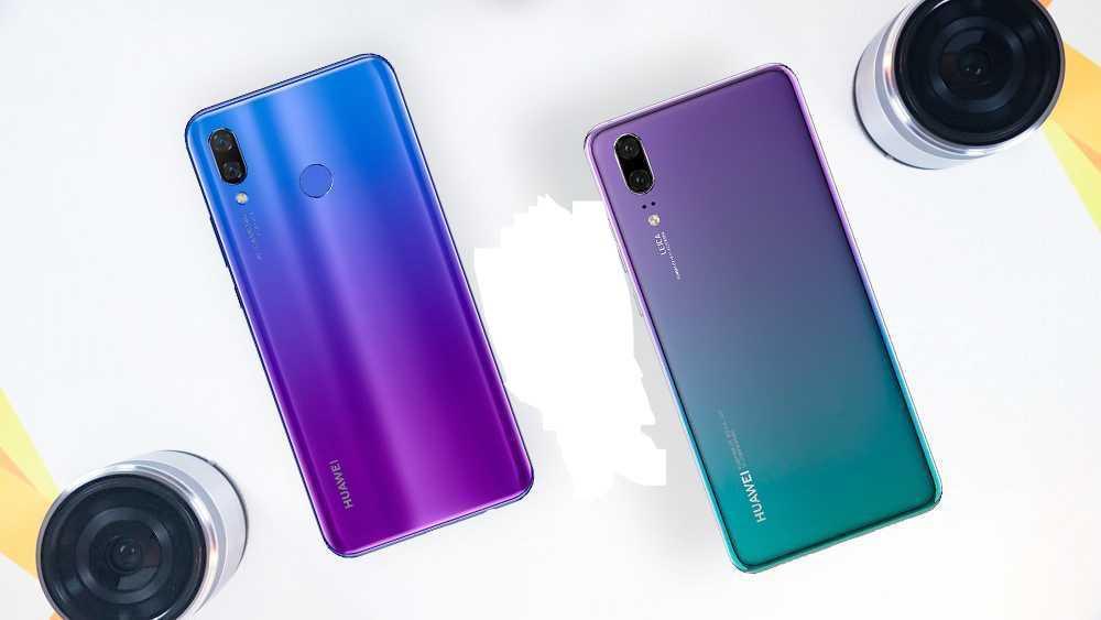 The Huawei Nova 3i and the Huawei P20 Side By Side