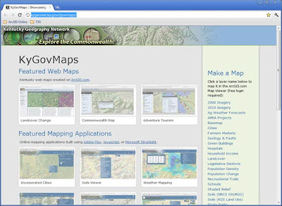 Mostly Mapping   : Kentucky's ArcGIS Online Map Portal
