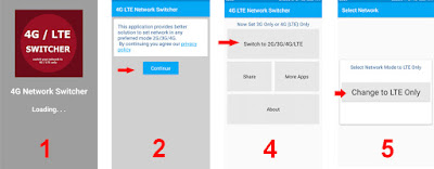 2 Cara Mengaktifkan Jaringan 4G / LTE Only di Samartphone Android