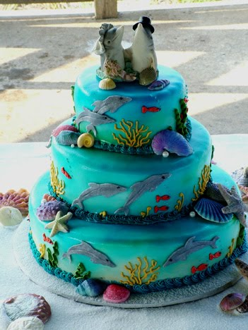 Cecile Blog Spot Idea For Under The Sea Cakes Design