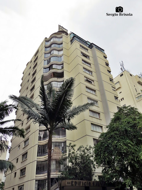 Vista ampla do Edifício Salvador Pastore - Cerqueira César - São Paulo