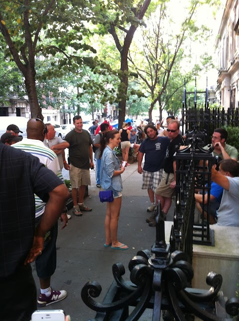 On Set: Gossip Girl