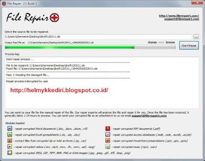 Cara Memperbaiki File Corrupt Rusak Terbaru