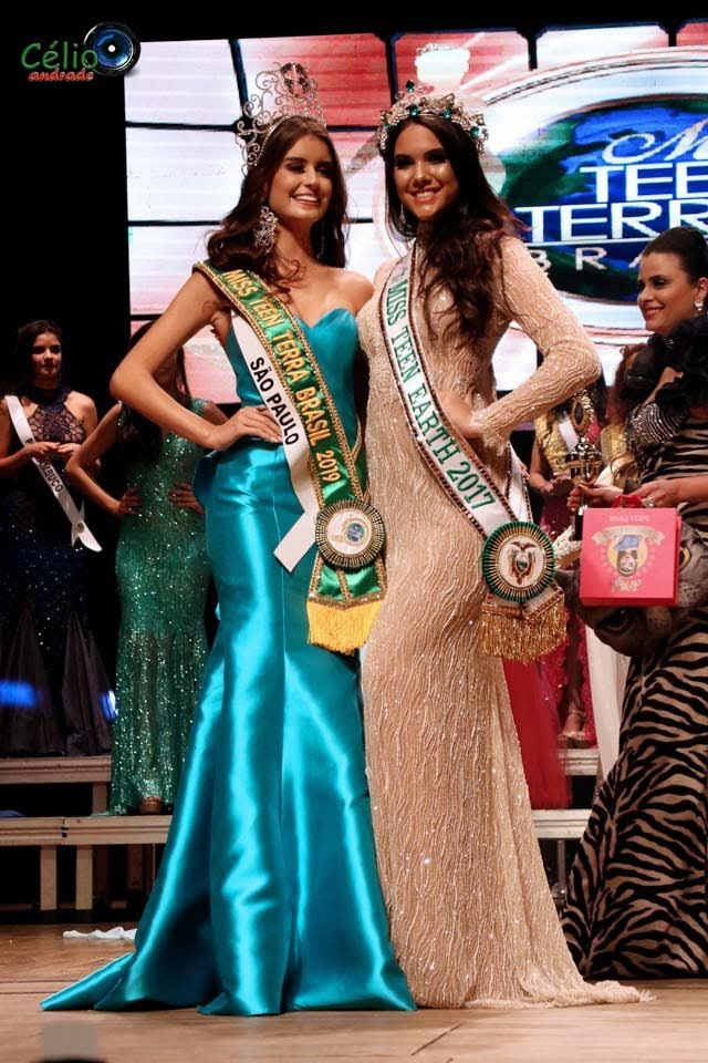 Miss Teen Terra Brasil 2019 e Miss Teen Earth 2017. Foto: Célio Andrade