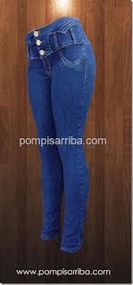 pantalon para dama stretch pantalones corte colombiano de mayoreo
