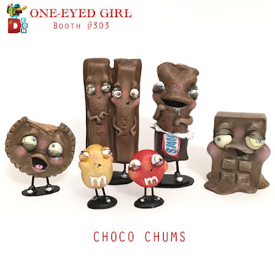 One-Eyed Girl's Designer Con 2017 Exclusives