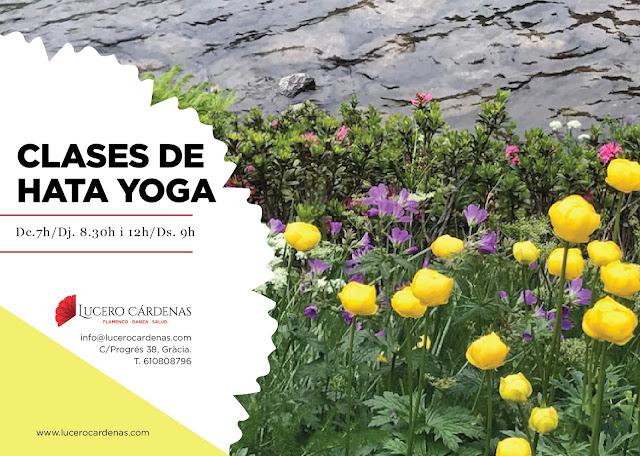yoga relajación estiramientos clases escuela barcelona