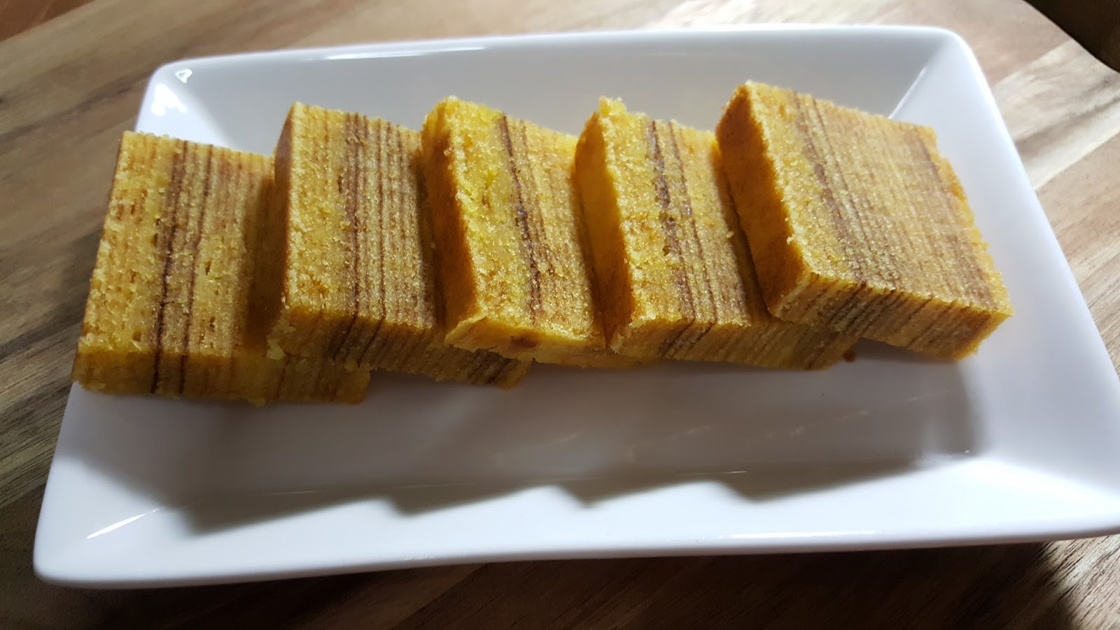 Cempedak Layer Cake Or Kek Lapis A Tasty Clic Every Slice Of This Aromatic You Simply Can T Resist