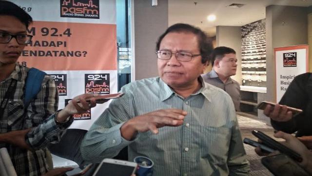 Kritik Dana 'Pesta' Mewah IMF di Bali, Rizal Ramli Bandingkan dengan Duka Tsunami