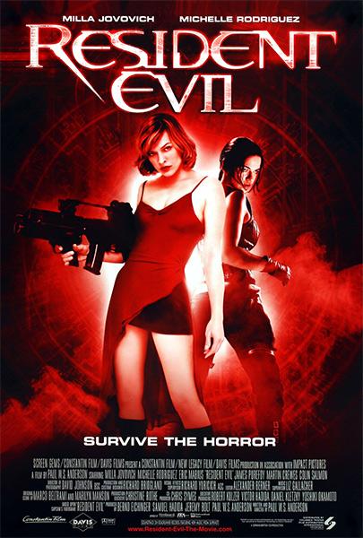 Resident Evil: El huésped maldito (HD 1080P y español – ingles 2002) poster box code