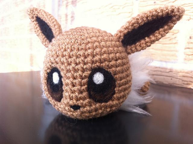 Häkelblog - Täglich neue Anleitungen: Pokemon Baby Evoli ...