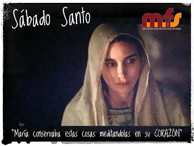 """Sábado Santo """"Con la mirada en María"""""""