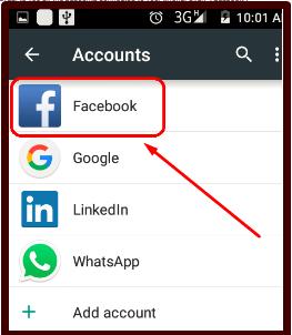 Facebook Contact Photo Sync