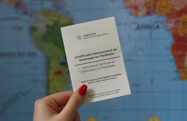 Certificado de vacinação internacional para entrar em San Francisco