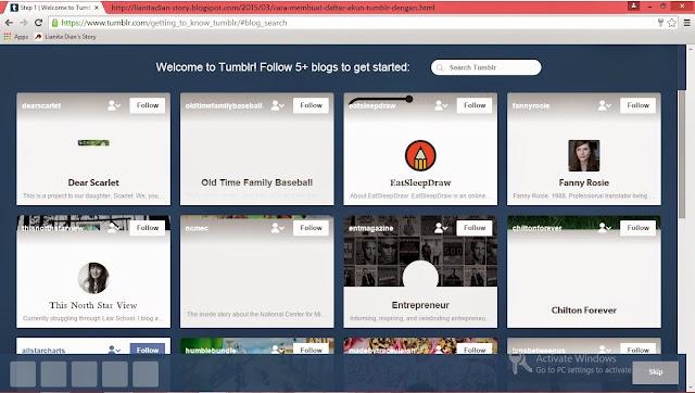 Cara Membuat Akun Tumblr Cepat dan Mudah