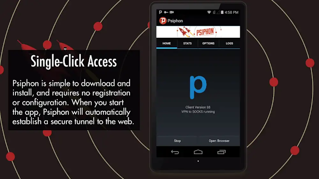 Psiphon Pro B236 Mod Subscribed + Lite + Optimized apk free