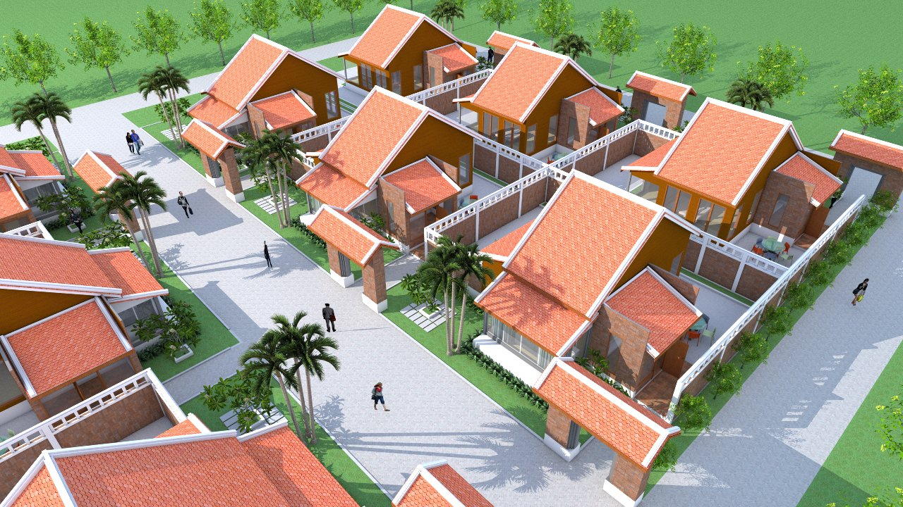 vray sketchup setting one bedroom house plan 6x9m boutique hotel one bedroom house plan 6x9m