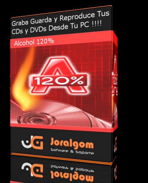 Alcohol 120% V2.0.3.9902 build Grabación y Emulación Virtual de CDs y DVDs !!!!