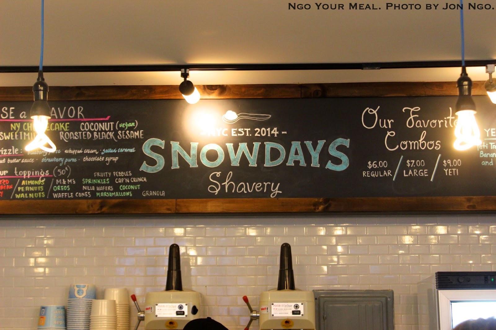 Snowdays Shavery