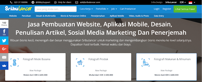 Sribulancer.com : Situs Freelance Indonesia Untuk Kerja Online