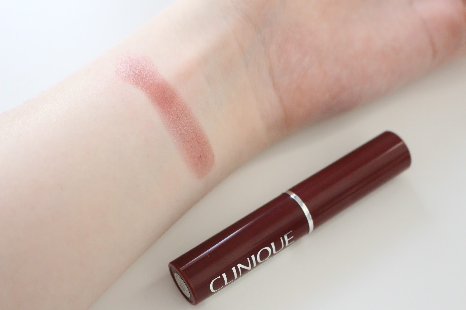 Clinique Black Honey Balm Swatches