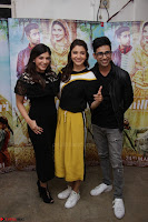 Anushka Sharma with Suraj Sharma and Mehrene Kaur Pirzada at Interview For movie Phillauri 10.JPG