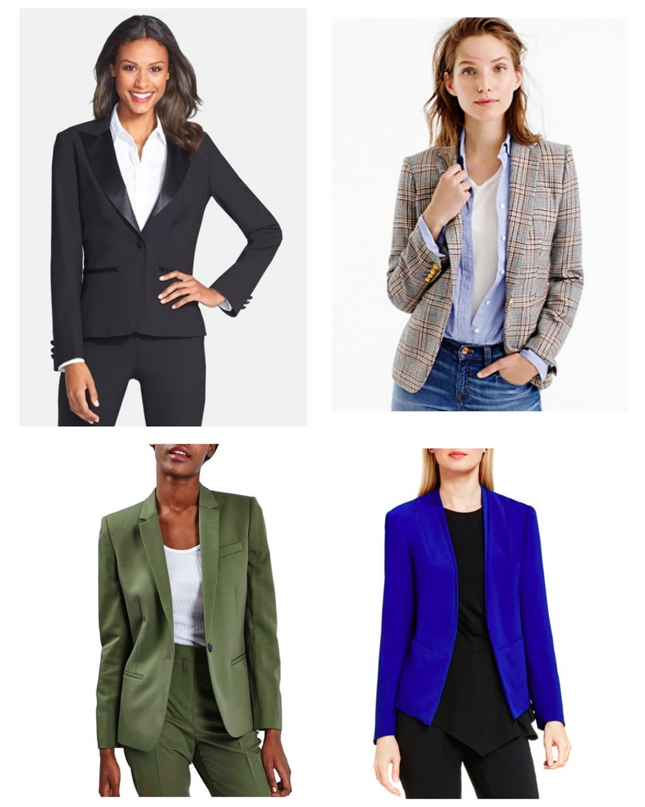 womens blazers bold colors