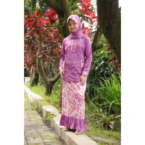 Baju Batik Anak Muslim: Model Baju Muslim Modern Trend Masa Kini