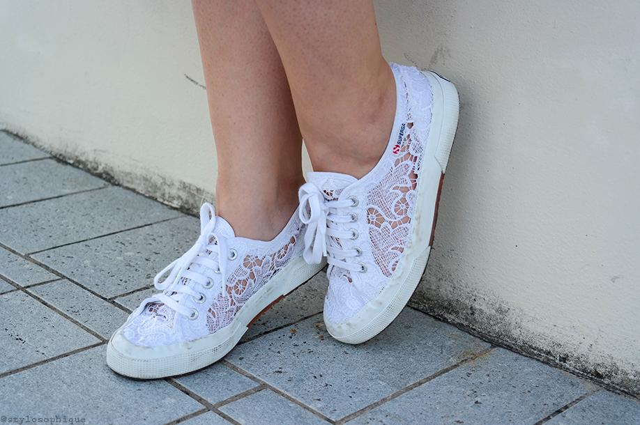 Iris Tinunin, Curvy, Shorts, superga, lace, pizzo