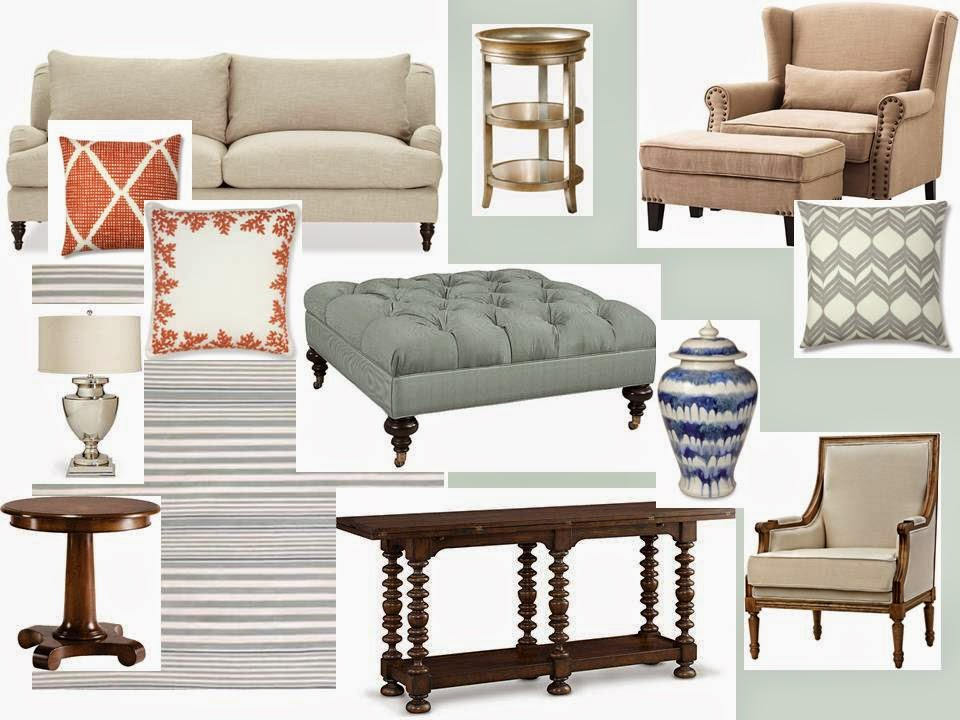 The Decorina : Hollywood Inspired Living Room