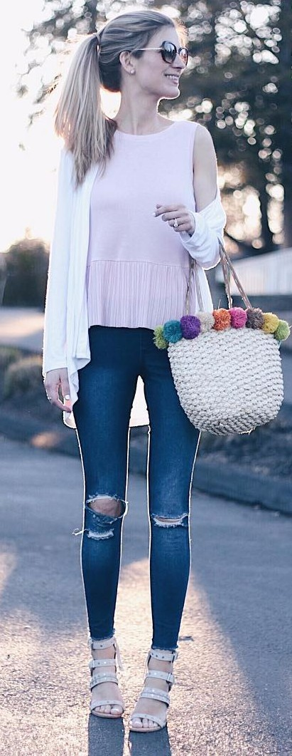 The most perfect date night casual look I've seen