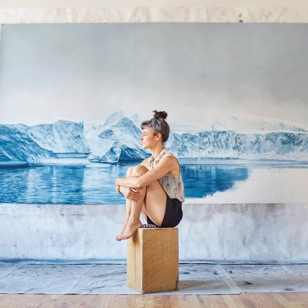 13-A-bit-of-modelling-Zaria-Forman-Ice-Snow-and-Water-Pastel-Drawings-www-designstack-co