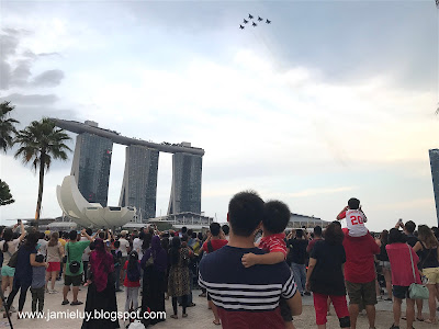 Singapore National Day Parade Fighter Planes