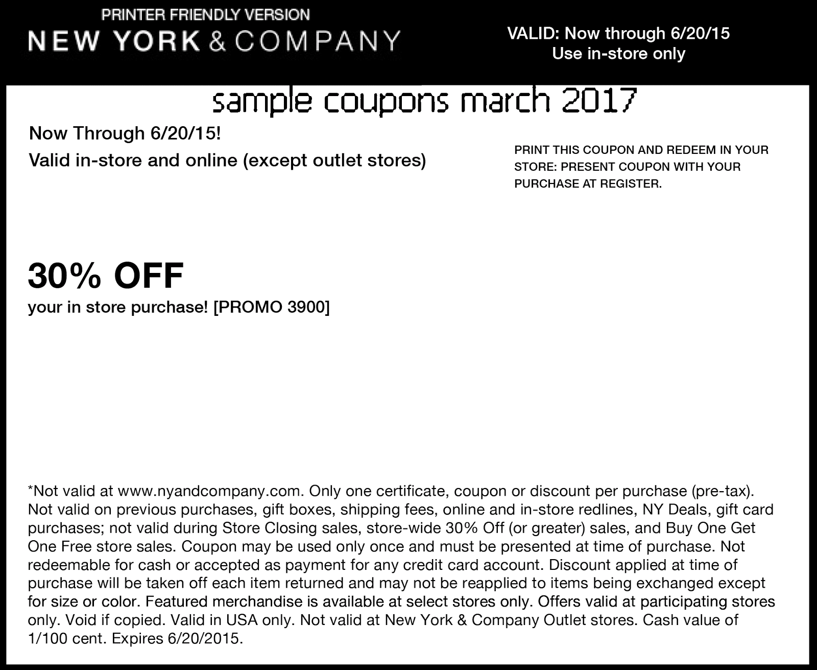 New york and co coupon code