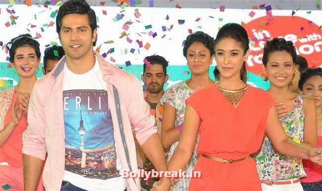 Varun Dhawan and Ileana D'Cruz, Ileana D'Cruz & Varun Promotes Main Tera Hero