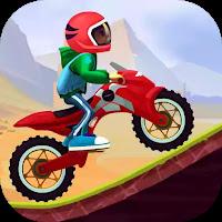 Stunt Moto Racing   (Mod Apk Ad-Free Unlocking Motorcycle)