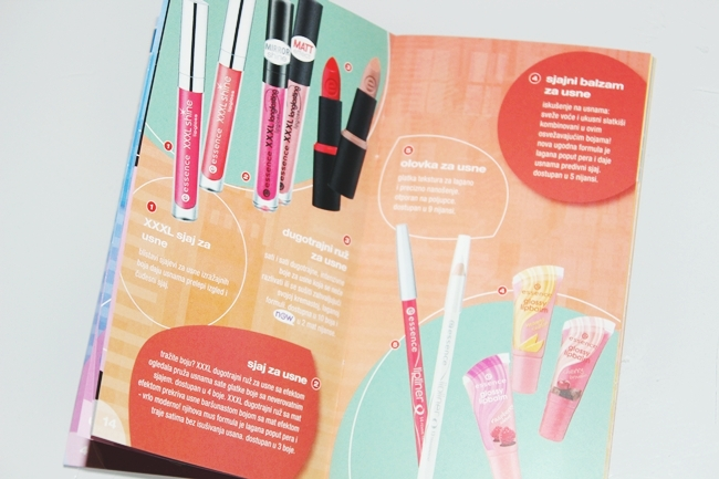 Essence cosmetics catalog