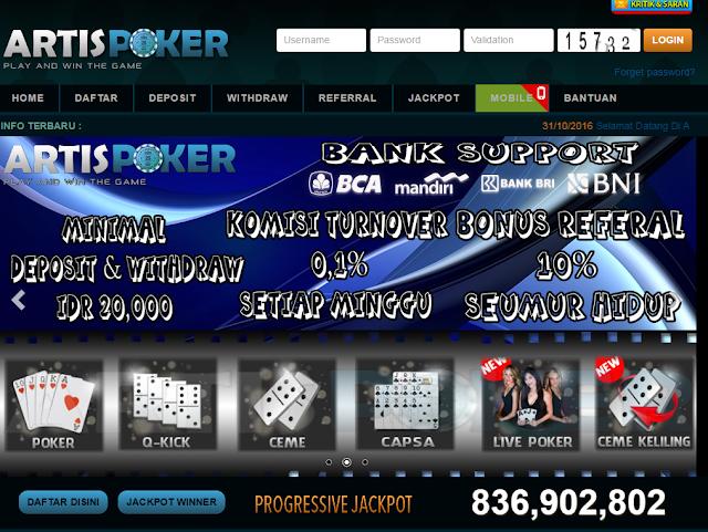 Agen Dewa Judi Poker Dan Domino Online Terbesar Dan Terpercaya
