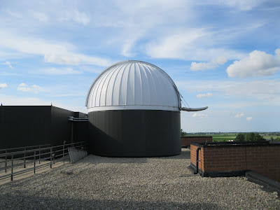 BGSU Observatory on the roof of the Life Science building