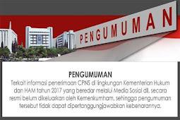 Penerimaan CPNS 2018 Merupakan Berita HOAX, Begini Klarifikasi Pihak MENPAN