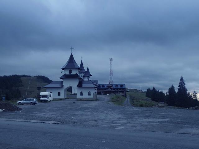 Przełęcz Prislop (Pasul Prislop) 1416 m n.p.m., Rumunia