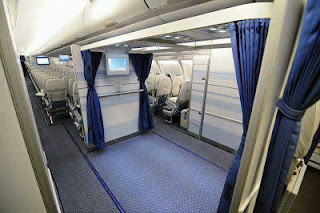 Saudi Airline Replaces 9 Passenger Seats On Their Air Craft With A Mosque 1