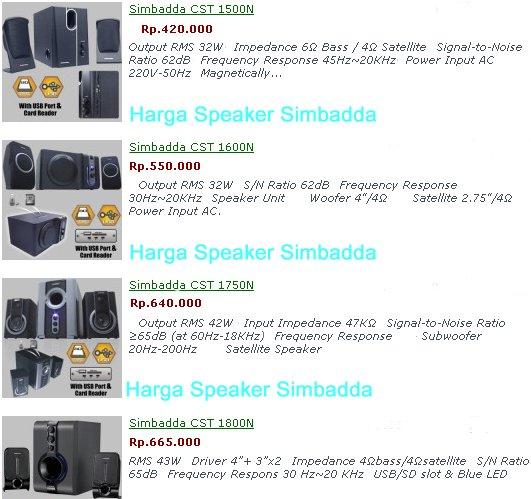 Harga-Speaker-Simbadda