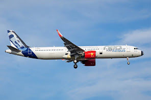 Airbus Test a/c for Vietjet