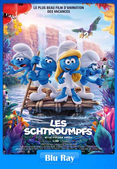 Smurfs The Lost Village 2017 Hindi 300MB Dual Audio 480p BluRay x264