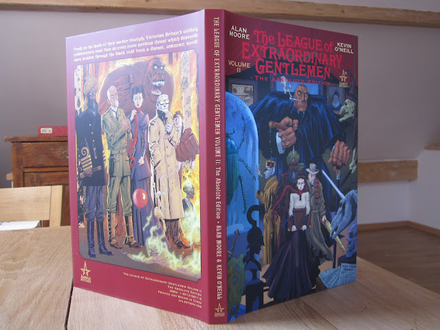 annotations to league of extraordinary gentlemen volume - 640×480