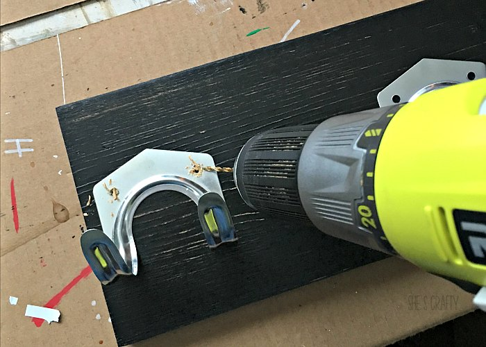 drill pilot holes, universal tool hooks