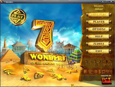 الان وحصريا لعبة الذكاء 7 Wonders  بمساحة 10 MB